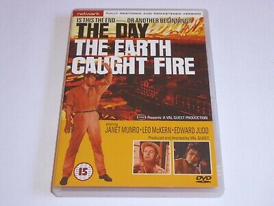 £3.95 • Buy The Day The Earth Caught Fire (1961) - Edward Judd - GENUINE UK DVD - EXC CONDIT