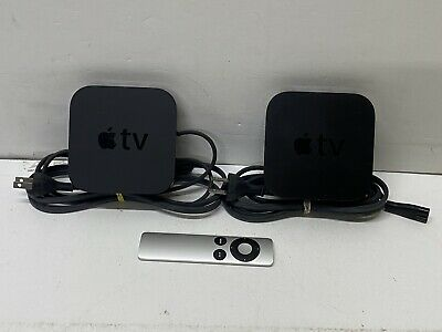 AU64.60 • Buy 2x Apple Tv 3rd Gen Media Streaming Devices A1469 Remote - Working 100%