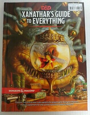 AU40 • Buy Preowned Dungeons & Dragons 5th Edition 5e Xanthar's Guide To Everything
