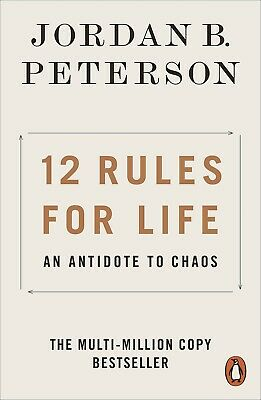 AU15.94 • Buy 12 Rules For Life: An Antidote To Chaos By Jordan B. Peterson | PAPERBACK BOOK