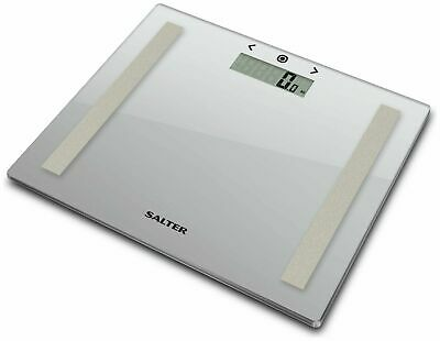 £14.99 • Buy Salter 30 X 25cm Compact Glass Body Analyser Scales - Silver
