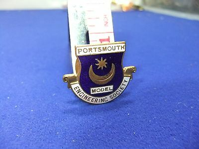 £8 • Buy Vtg Badge Scale Model Engineering Society Portsmouth 1950s 60s ? Smee Train Boat