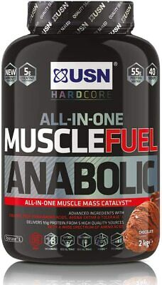 £24.91 • Buy USN Muscle Fuel Anabolic Chocolate 2KG,Performance Boosting Muscle Gain