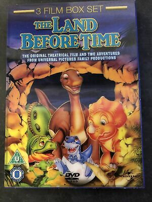 £1.60 • Buy The Land Before Time 3 Film Box Set DVD
