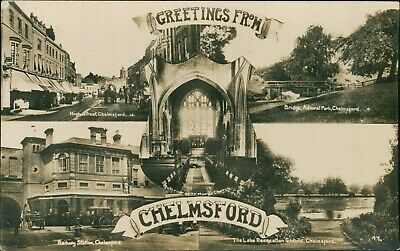 £6.99 • Buy Chelmsford Multi View Real Photo PC 'Greetings'      QX.334