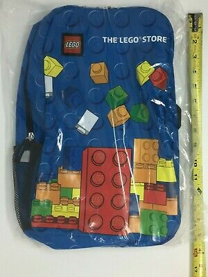 £24 • Buy The Lego Store Grand Opening Promotion Brick Print 16 Inch Child Backpack