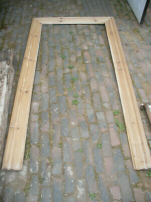 £90 • Buy Beautiful Reclaimed Victorian Stripped Pine Architrave Set. Large And Heavy