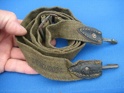 £18 • Buy * WW2 Wehrmacht Bread Bag Strap With Maker Marks, Genuine German Military (no.5)