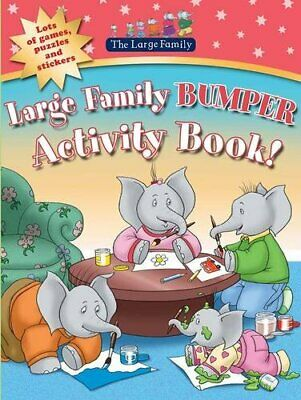 £7.99 • Buy Large Family Bumper Activity Book By Murphy, Jill Paperback Book The Cheap Fast