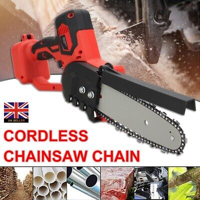£27.99 • Buy Electric Cordless Chainsaw Chain Saw Garden Cutting Tool 8  18V Makita Battery