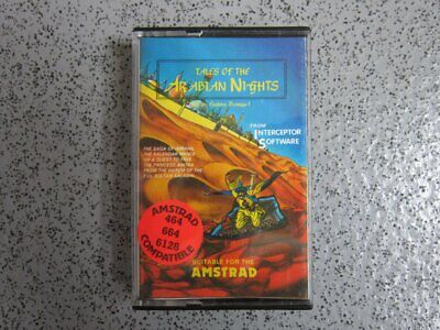 £2.95 • Buy Amstrad CPC * TALES OF THE ARABIAN KNIGHTS * 464, 664, 6128 Tested Game