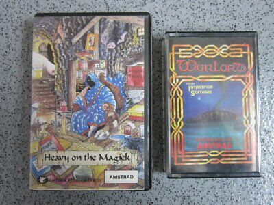 £3.35 • Buy Amstrad CPC * HEAVY ON THE MAGICK & WARLORD * 464, 664, 6128 Tested Games