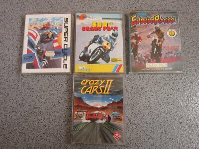 £3.95 • Buy Amstrad CPC * CRAZY CARS 2 & 500cc, ENDURO RACER  * 464, 664, 6128 Tested Games