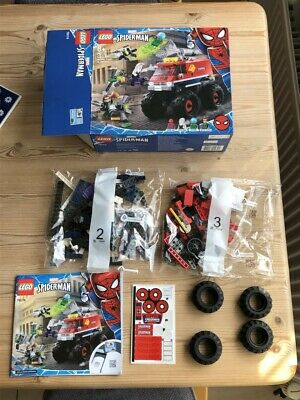 £20 • Buy LEGO 76174 Spider-man's Monster Truck (Bags 2&3 Only) Spider-man And Spider-Gwen