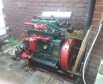 £1999 • Buy Vintage Ruston And Hornsby Marine Engine In Running Condition. (1954)