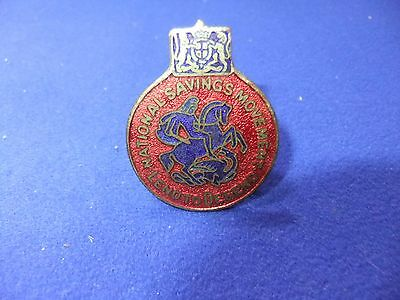 £8.50 • Buy Ww2 Badge Home Front Appeal Lend To Defend National Savings Movement War Effort