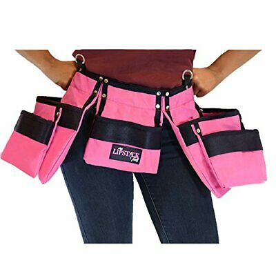 AU66.56 • Buy Pink Tool Belt For Women. Keep Your Gardening And Home Improvement Tools With...