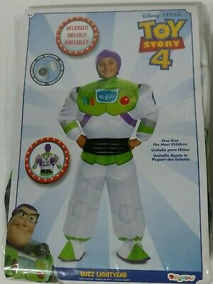 £25.42 • Buy Disney Toy Story 4 Buzz Lightyear Halloween Inflatable Costume OS