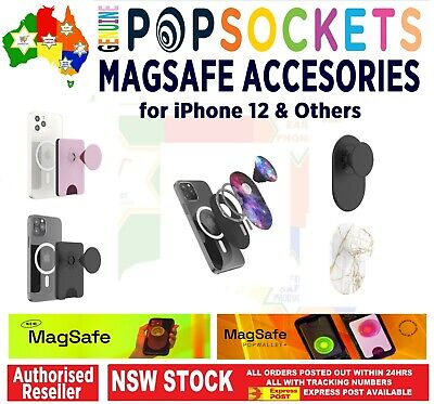 AU44.50 • Buy PopSocokets Magsafe Product Accessories For IPhone 12 PopWallet PopGrip Magnetic