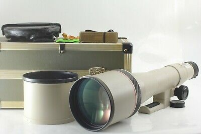 £1446.23 • Buy [MINT] Canon New FD NFD 800mm F/5.6L ULTRA Telephoto Lens SET From Japan