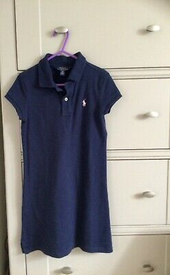£2.20 • Buy Polo Ralph Lauren Girls T-shirt Dress, Navy Blue. 7 Years. Excellent Condition.