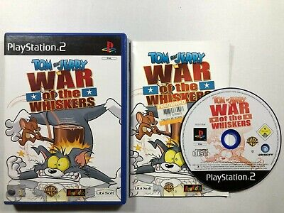 £4.99 • Buy Tom And Jerry In War Of The Whiskers - Sony PS2 Playstation 2 Game PAL CIB