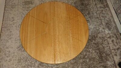£11.99 • Buy Wooden Lazy Susan Turntable
