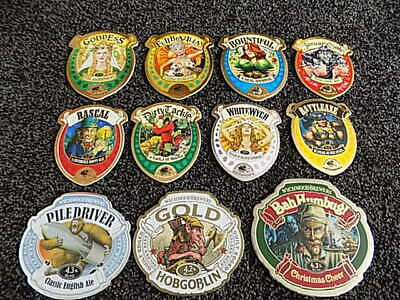 £24.99 • Buy 11 Wychwood Brewery Beer Pump Clips, Badges, Home Bar, Pub, Man Cave, Real Ale