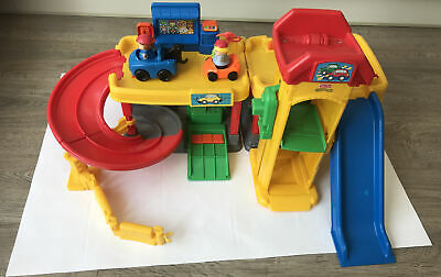 £12.99 • Buy Fisher Price Little People Ramps Around Garage With Elevator & Vehicles