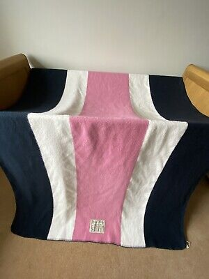 £35 • Buy Jack Wills Large Blanket White Pink And Blue