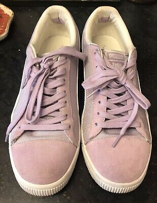 £9.99 • Buy Undefeated X Puma Trainers Clyde Purple/lilac Size Uk 7 -no Box