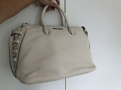 £101 • Buy Miu Miu Leather Handbag With Bow Details In The Side New Never Used Authentic