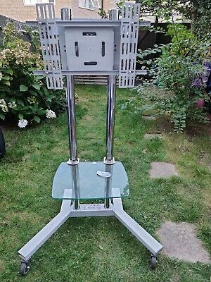 £5 • Buy Mobile TV Stand Trolley Cart Screen Station