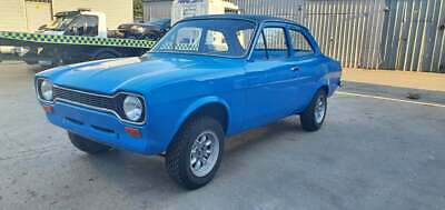 £35000 • Buy Ford Mk1 Escort Rs1600 Group 4 Rally Racing Classic Rolling Shell Inc V5