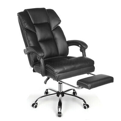 AU125.99 • Buy Massage Racing Gaming Office Chair Executive Computer Chairs PU Leather Recliner