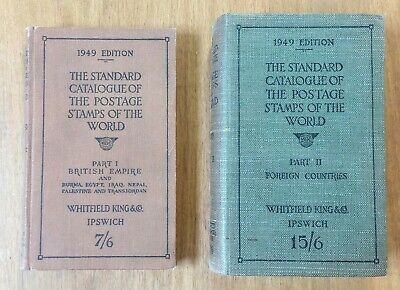 £11.99 • Buy 1949 Standard Catalogue Postage Stamps Of The World Pt I & II. WHITFIELD KING Co