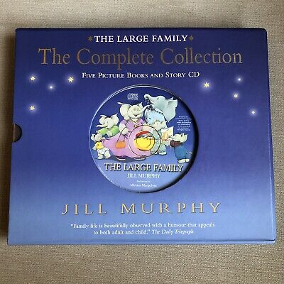 £5.50 • Buy The Large Family Books By Jill Murphy The Complete Collection With Story CD