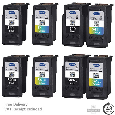 £14.95 • Buy Remanufactured Canon PG540/XL CL541/XL Ink Cartridges For Canon MG4250 Printers