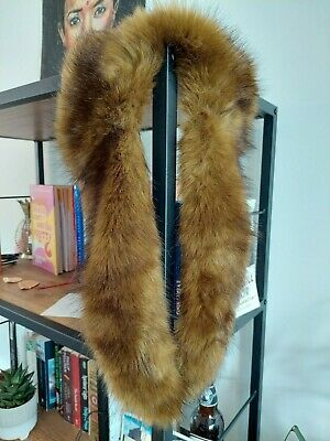 £2 • Buy Brown Faux Fur Scarf/Stole