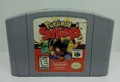 $20 • Buy Pokemon Snap (Nintendo 64, 1999) Authentic N64 Cart Only Tested - FREE SHIPPING