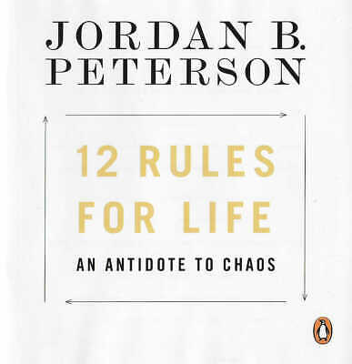 AU28.19 • Buy JORDAN B. PETERSON - 12 Rules For Life: An Antidote To Chaos Unabridged CD Audio