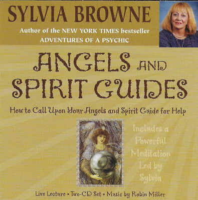 £9.99 • Buy SYLVIA BROWNE - Angels And Spirit Guides - CD Audio - With Powerful Meditation