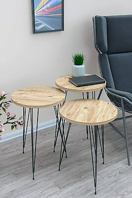 £36.90 • Buy SASAHOO Nest Of Tables Set Of 3 - Nesting/Bedside Tables, End Table, Nightstand