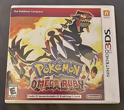 $33 • Buy Pokemon Omega Ruby (nintendo 3ds 2014) Game With Box Genuine Authentic