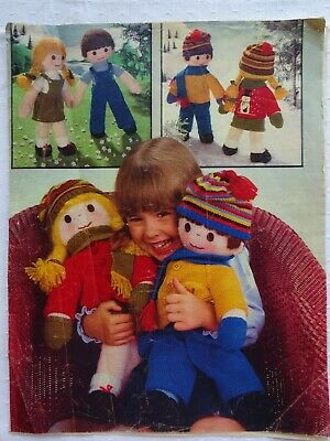 £2.50 • Buy Vintage Jean Greenhowe Doll & Clothes  Toy Knitting Pattern