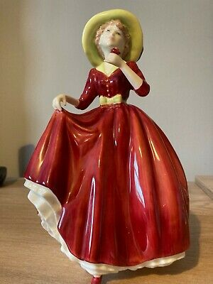 £9.99 • Buy Royal Doulton Figurine - A Single Red Rose
