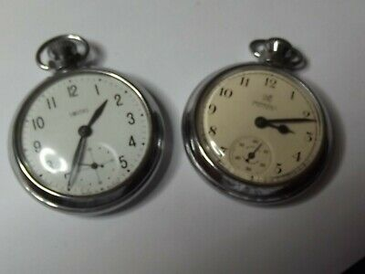 £15 • Buy 2 X Vintage Gents POCKET WATCH Hand-Wind SMITHS And INGERSOLL