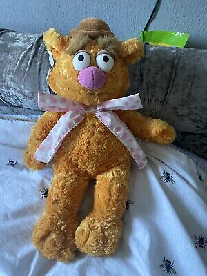 £9.99 • Buy Fozzie Bear Muppet Official Disney Store  Plush Soft Toy 17ins. Super Condition