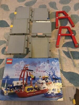 £25 • Buy Vintage Lego 6542 Harbour Parts And Instructions