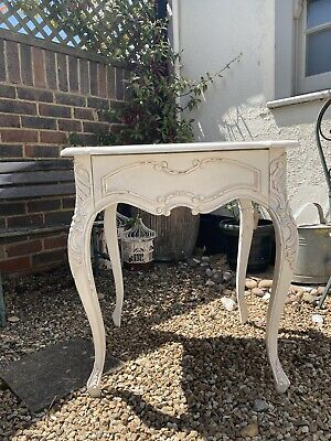 £52 • Buy French Bedside Table, Antique Style White